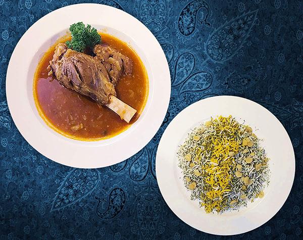 Baghali Polo Ba Gousht by Persian House Restaurant in Bangkok