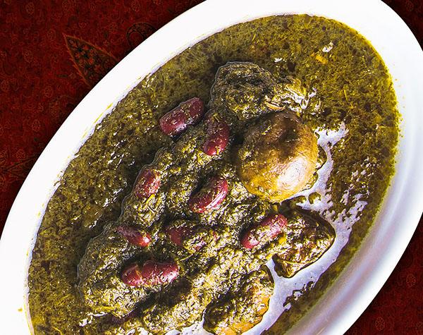 Khoresht Ghormeh Sabzi by Persian House Restaurant in Bangkok