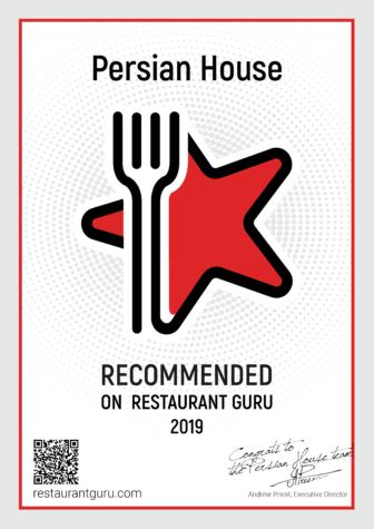 RestaurantGuru_Certificate 2019